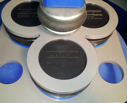 Disc mill ring mill 3 adapter plates with bowl and disc