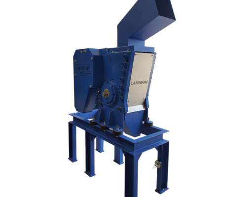 LMFC250 Fine Crusher with anti vibration frame and large hopper