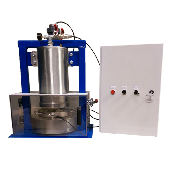 Pressure filter Table mounted version PED