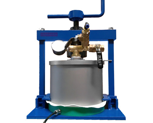 Pressure filter Table mounted