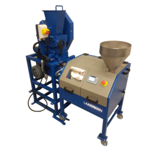 rotary sample divider and jaw crusher combination for sampling