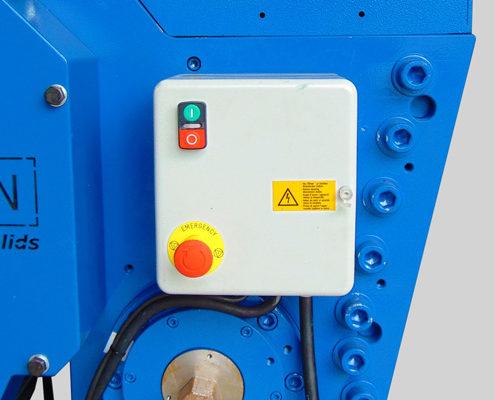LMFC250 Fine Crusher Safety
