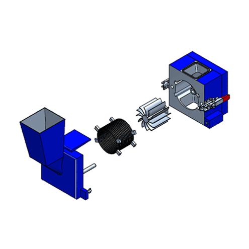 LMQ Quadro Cutting Mill - RM technical drawing