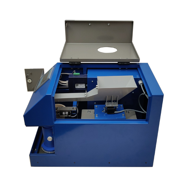 Micro sample divider weight based