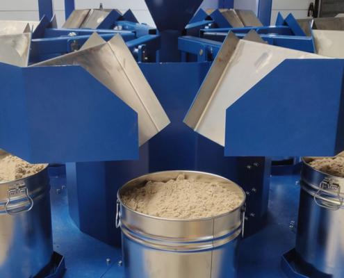 300 liter rotary sample divider