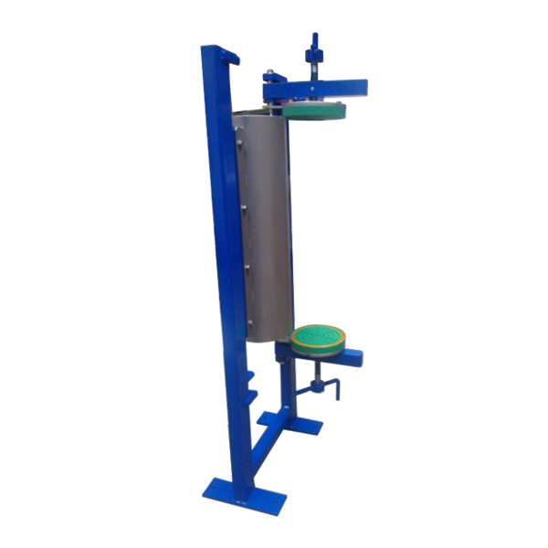 Pressure filter double spindle version open