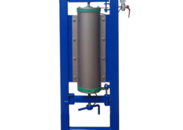 Pressure filter double spindle version